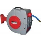 Маркуч за въздух с автоматична макара и стойка за стена