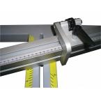 Форматен циркуляр с алуминиева маса 2000 мм и подрезвач TS315VF-2000
