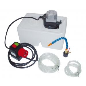 Охладителна система с течност за машини